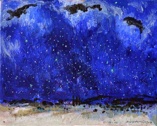 Natale ADDAMIANO - Painting - Festa celeste