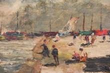 John LAVERY - Painting - Seascape