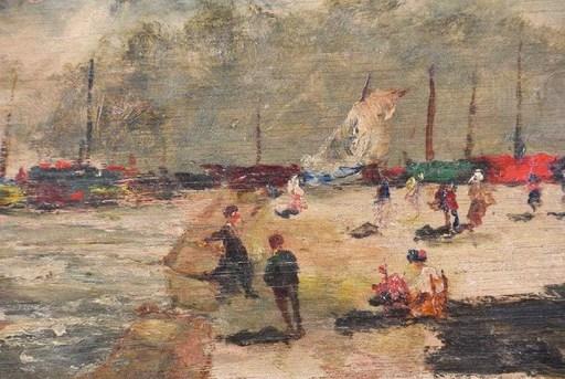 John LAVERY - Gemälde - Seascape