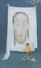 Jean LAMBERT-RUCKI - Painting - La priére