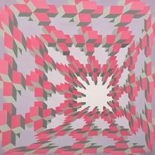 Guy POUPPEZ - Painting - composition cynetique