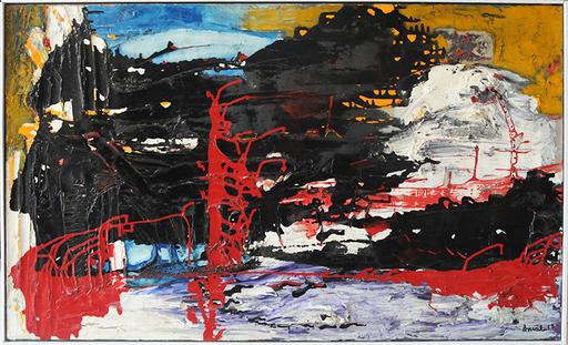François ARNAL - Pintura - Au-dessus des Volcans, Mexico