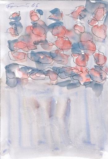 Günther FÖRG - Drawing-Watercolor - Untitled