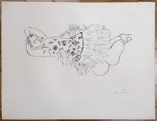 亨利·马蒂斯 - 版画 - Danseuse Endormie
