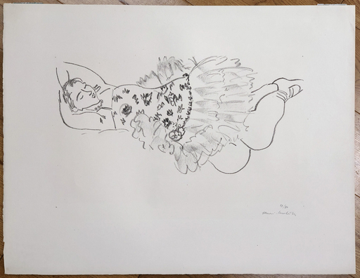 Henri MATISSE - Stampa Multiplo - Danseuse Endormie