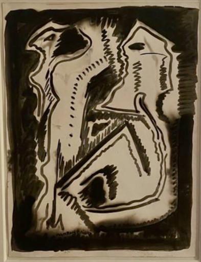 MAN RAY - Dessin-Aquarelle - Untitled