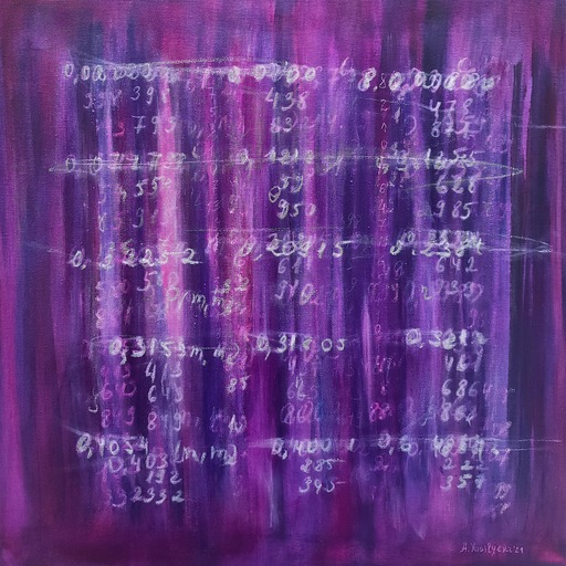 Anastasia VASILYEVA - Pintura - Science Artwork 031