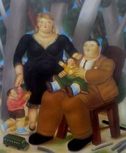 Fernando BOTERO - Print-Multiple - Grupo de Familia