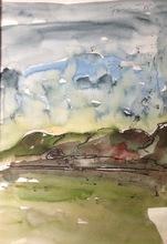 Günther FÖRG - Drawing-Watercolor - Ohne Titel 2
