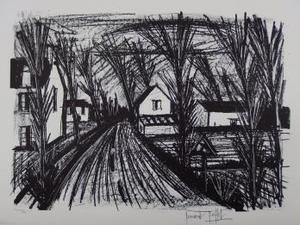 Bernard BUFFET - Print-Multiple - Country road