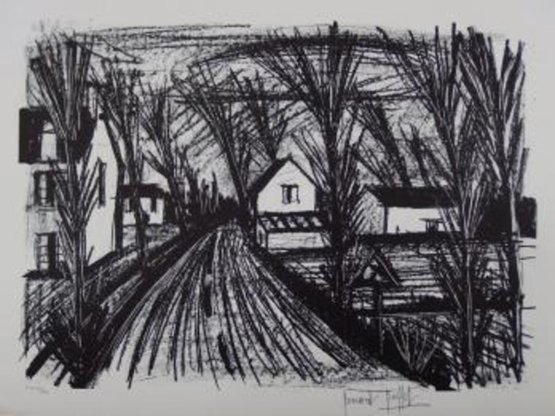 Bernard BUFFET - Print-Multiple - Country road