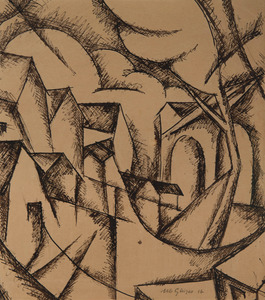 Albert GLEIZES - Drawing-Watercolor - Toul