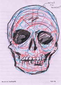 Marcel DZAMA - Drawing-Watercolor - A Blind Man's Scrap Book