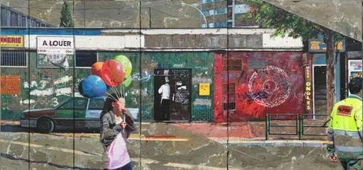 Arnaud LIARD - Painting - Wall of fame