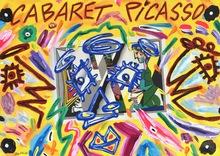 Bruno DONZELLI - Painting - Cabaret Picasso