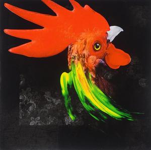 Marc FELTEN - Painting - COQ