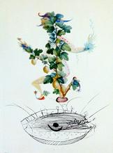 Salvador DALI (1904-1989) - Reverence of the Gooseberry | Révérence du Groseillier