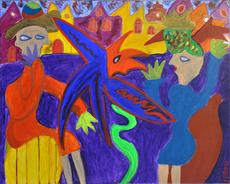 Pintura - Het gevecht Nr. 4    (Cat N° 4305)