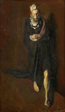 Corneliu BABA - Painting - The Mad King