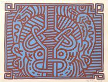 Keith HARING (1958-1990) - Chocolate Buddha 1