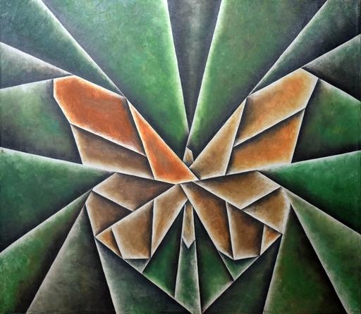 Alexander NIKOLENCO - Painting - Butterfly in Labirinth