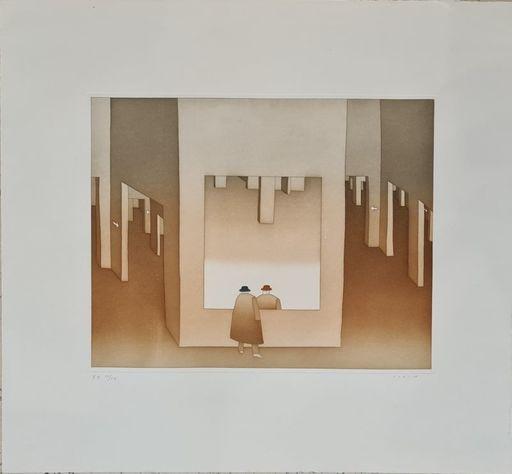 Jean-Michel FOLON - 版画 - Sans titre