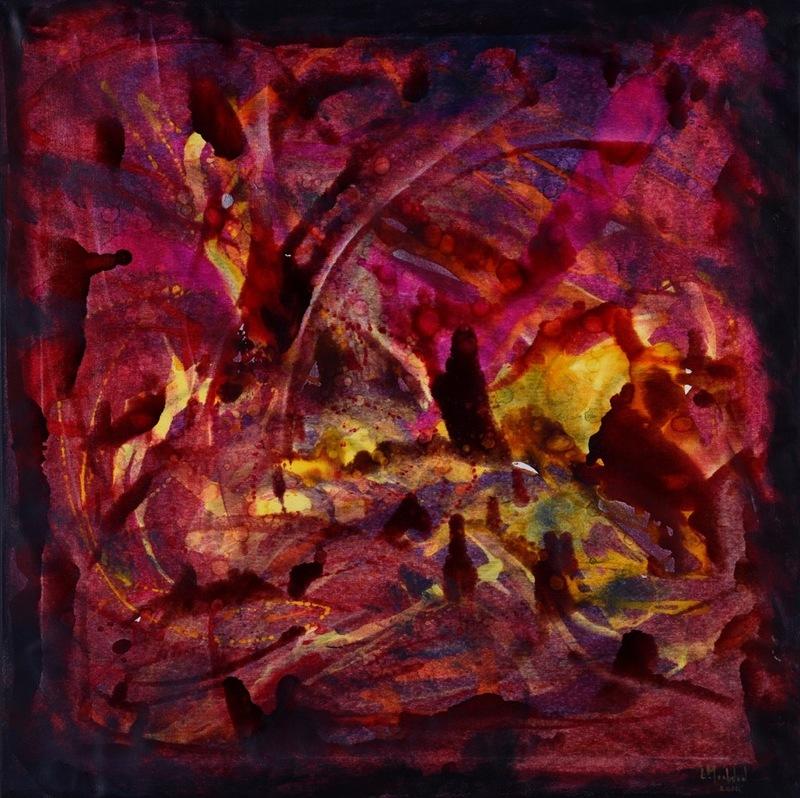 Lydia MOAWAD - Peinture - Untiled
