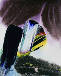 Paul JENKINS - Gemälde - Phenomena Celtic Fire Torc