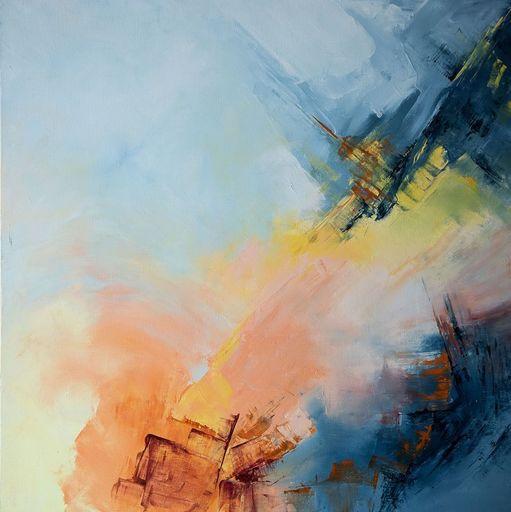 Françoise DUGOURD CAPUT - Painting - Un Jour , une Vie