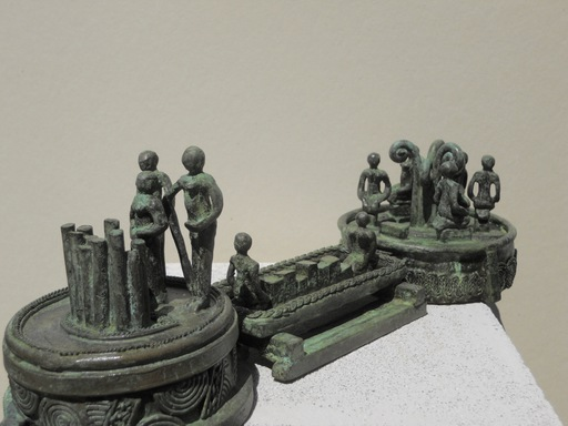 Michaël MAGNE - Sculpture-Volume - Les novices conseillent la crue cristalline