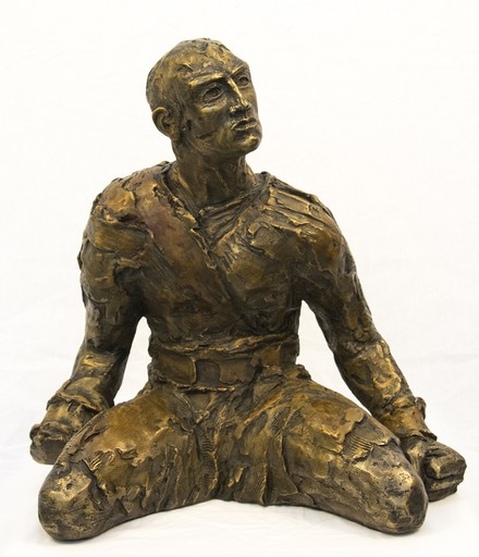 Sylvain LOUIS SEIZE - Skulptur Volumen - Will Power