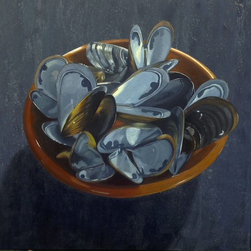 Claudine PICARD - Pintura - Moules