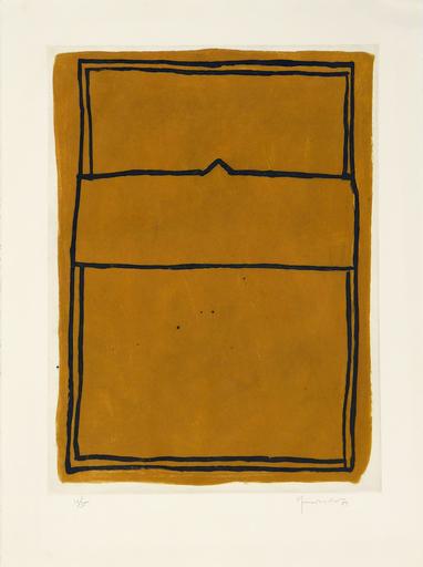 Joan HERNANDEZ PIJUAN - 版画 - La Casa desde la que se Divisa el Campo I