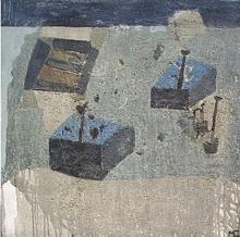 Miguel CASTRO LEÑERO - Painting - Jardín secreto