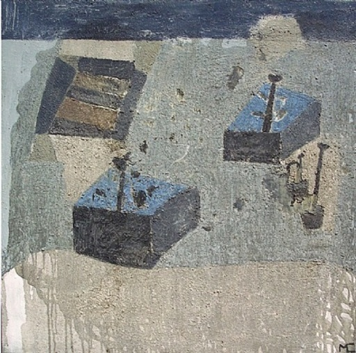 Miguel CASTRO LEÑERO - Peinture - Jardín secreto