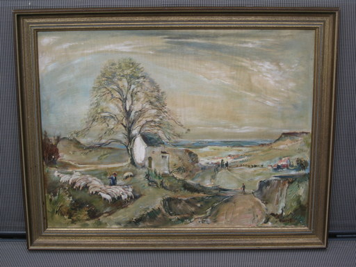 Wilhelm LUIB - Pintura - Die Heimkehr 1948