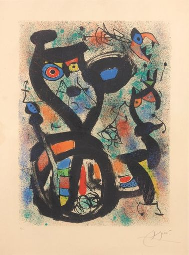Joan MIRO - Stampa Multiplo - Le Chat