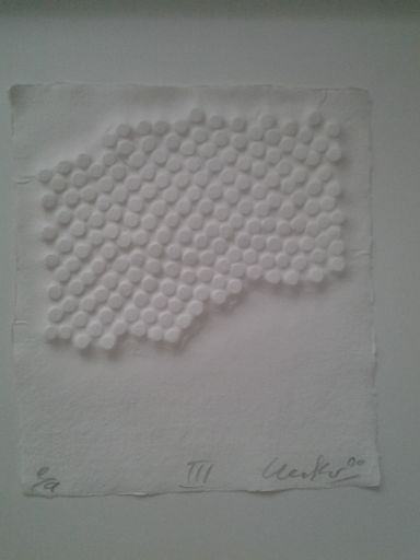 Günther UECKER - Print-Multiple - Korrelationen III