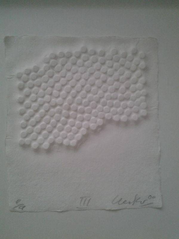 Günther UECKER - Estampe-Multiple - Korrelationen III