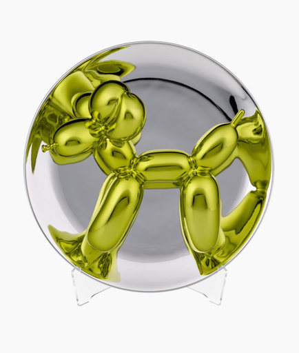 Jeff KOONS - Scultura Volume - Balloon Dog Gold-Gelb