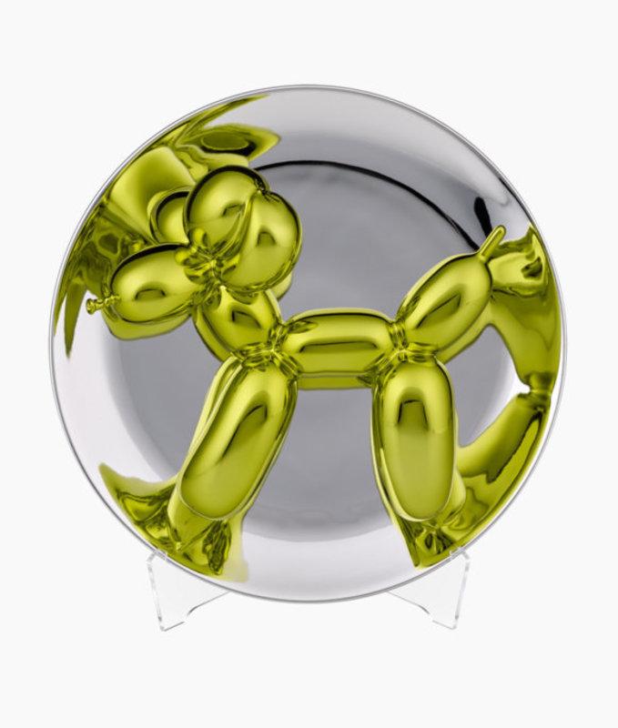 Jeff KOONS - Sculpture-Volume - Balloon Dog Gold-Gelb