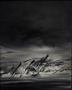 Julius BALTAZAR - Painting - Sans titre