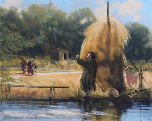 Silvestro PISTOLESI - Painting - L'incontro