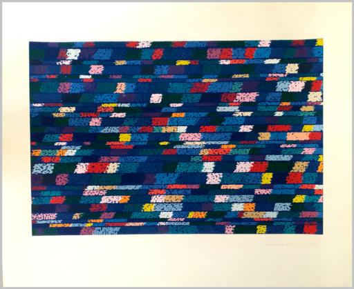 Piero DORAZIO - Estampe-Multiple - Composizione