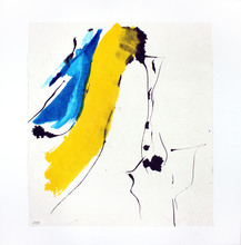 Judith WOLFE - Drawing-Watercolor - Fin de jour réveille les lignes