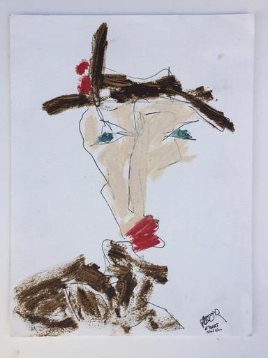 Philippe PASTOR - Disegno Acquarello - SAINT BART