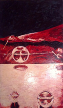 Fatiha ABELLACHE - Pittura - Espace intense