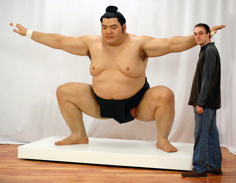 Jamie SALMON - Sculpture-Volume - Sumo