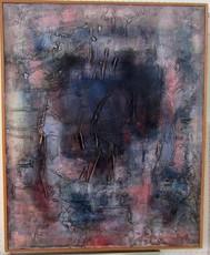Antonio CORPORA - Peinture - WRITING ON STONE