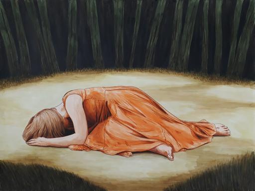 Erlend STEINER LOVISA - Painting - Lydia    (Cat N° 6336)